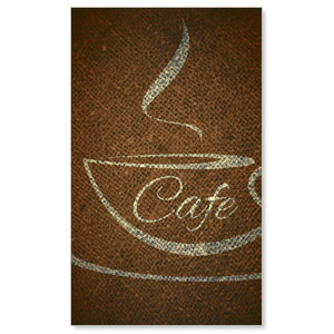 Cafe LightBox Graphic Insert