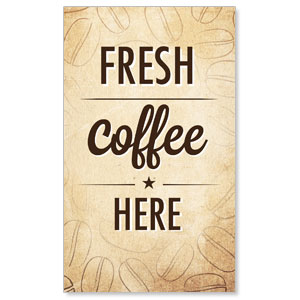 Coffee Retro LightBox Graphic Insert
