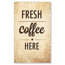 Coffee Retro LED LightBox Graphic