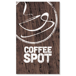 Coffee Spot LED LightBox Graphics
