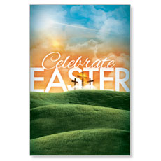 Easter Landscape LED LightBox Graphic