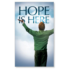 Hope is Here LED LightBox Graphic