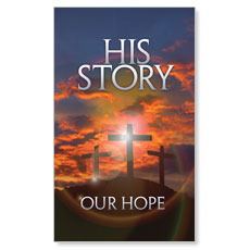 His Story Our Hope LED LightBox Graphic