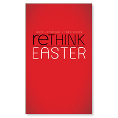 Rethink Easter LED LightBox Graphic