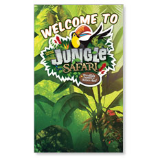 Jungle Safari LED LightBox Graphic