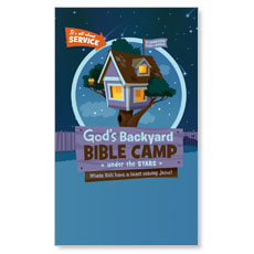 God's Backyard Bible Camp LED LightBox Graphic