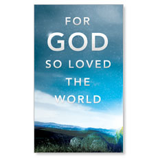 For God So Loved Left LED LightBox Graphic