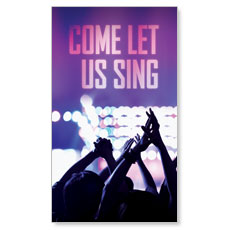 Let Us Sing Left LED LightBox Graphic