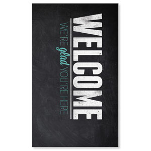 Slate Welcome LED LightBox Graphics