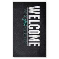 Slate Welcome LED LightBox Graphic