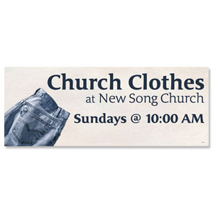 Church Clothes Banners