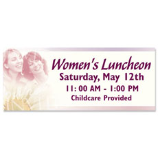 Women's Invited Banner