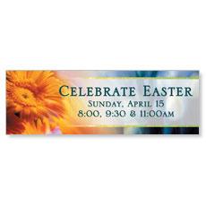 Easter Flower Banner