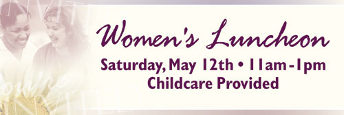 Banners, Mother's Day, Women's Invited Multi - 12, 4' x  12'