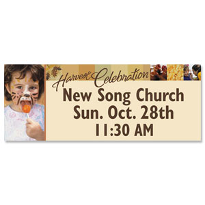 Harvest Celebration Banners