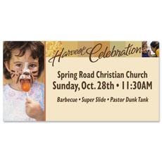 Harvest Celebration Banner