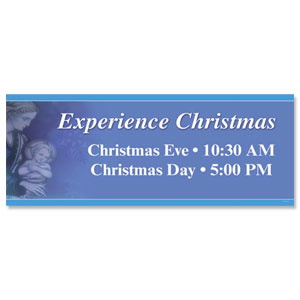 Experience Christmas 3x8 ImpactBanners