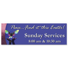 Easter Peace Banner