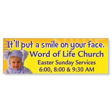 Easter Smile Banner