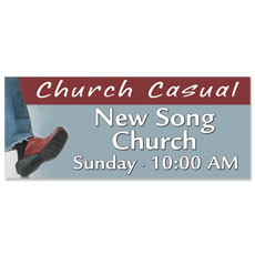 Church Casual Banner