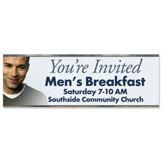 Invited Men Banner