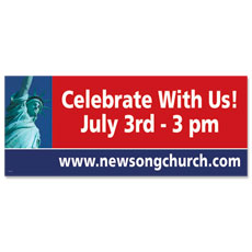 America Celebrates Banner