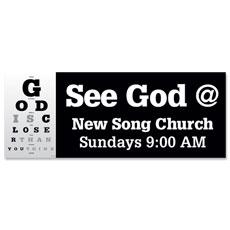 God Is Closer Banner