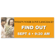 Love Language Banner