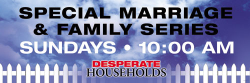 Banners, Sermon Series, Desperate Households -15, 5' x 15'