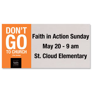 Faith in Action 4x8 ImpactBanners
