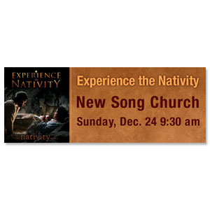 Experience Nativity - 3x8 ImpactBanners