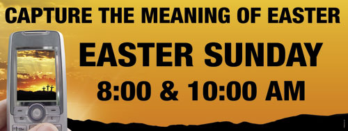 Banners, Easter, Capture Meaning 3x8, 3' x 8'