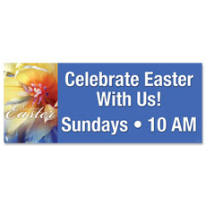 Easter Floral Banner