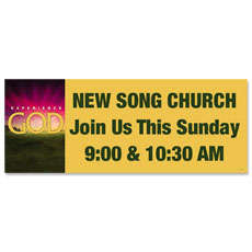 God Sunrise Banner