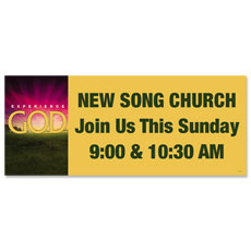 God Sunrise Banner