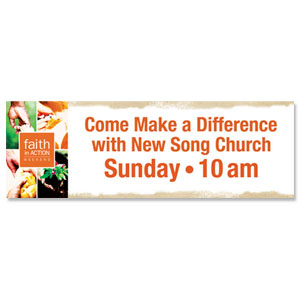 Faith in Action Difference Banners