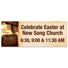 Easter True Story Banner