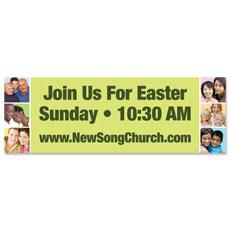 Easter Squares Banner