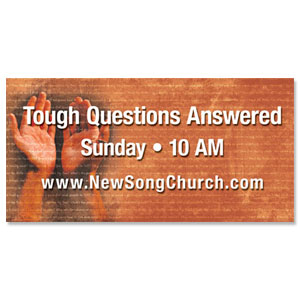 Answers God - 8 ImpactBanners