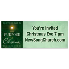 Purpose of Christmas Banner