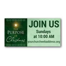 Purpose of Christmas Banner