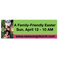 Easter Kids Invited Banner