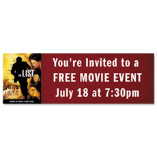 The List Movie Banner