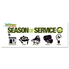 Season of Service Icons Banner