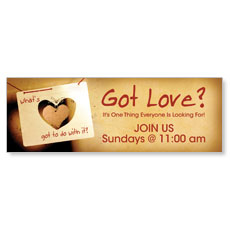 What's Love Got Banner