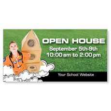 Christian School Outdoor Banners