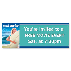 Soul Surfer Movie Event 3 x 8