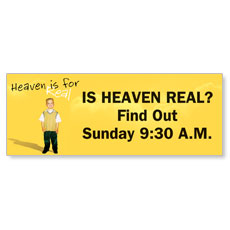 Heaven is for Real Banner