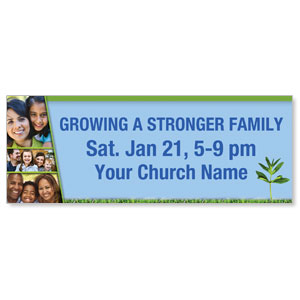 Growing Families - 3 x 8 ImpactBanners