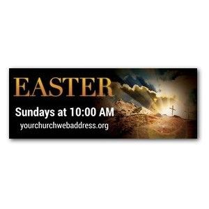 True Story Easter Banners